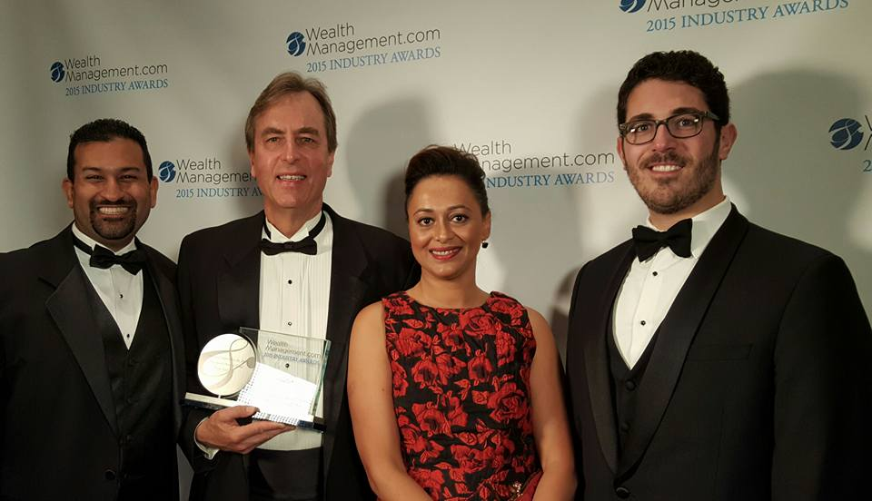 Laserfiche Wins at WealthManagement.com 2015 Industry Awards